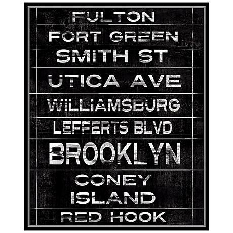 """New York City Destinations III 31 1/2"""" High Framed Wall Art"""