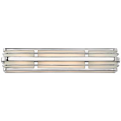 "Hinkley Winton 4-Light 26 1/4"" Wide Chrome Vanity Light"