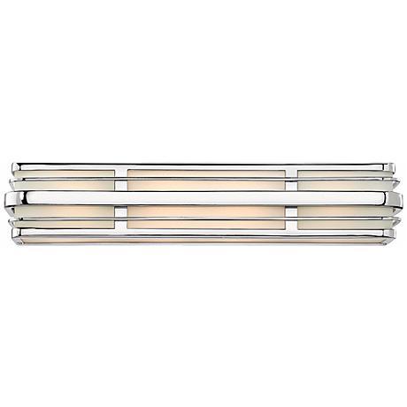 """Hinkley Winton 4-Light 26 1/4"""" Wide Chrome Vanity Light"""
