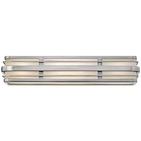 "Hinkley Winton 4-Light 26 1/4"" Wide Nickel Vanity Light"