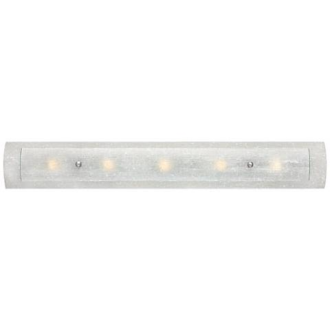 "Hinkley Duet 5-Light 36"" Wide Dual Glass Vanity Light"