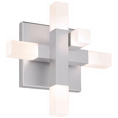 """Sonneman Connetix 29"""" Wide LED Wall Sconce"""