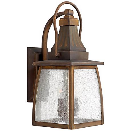 "Hinkley Montauk Sienna 17 1/4"" High Outdoor Wall Light"