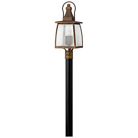 "Hinkley Montauk Sienna 23 3/4"" High Outdoor Post Light"