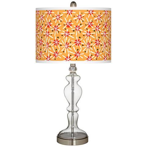 Seastar Giclee Apothecary Clear Glass Table Lamp