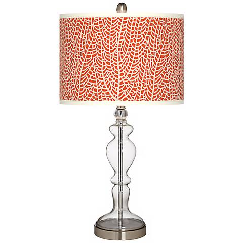 Stacy Garcia Seafan Coral Apothecary Glass Table Lamp