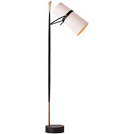 arteriors home yasmin floor lamp x0166 lamps plus. Black Bedroom Furniture Sets. Home Design Ideas