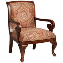 Diana Red Accent Chair