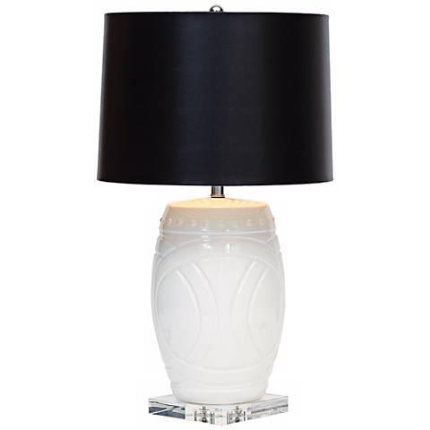 Hutchinson White Porcelain Table Lamp