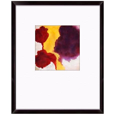 "Watercolor I 21"" High Abstract Wall Art"