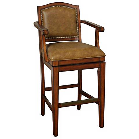 "American Heritage Martinique 30"" Tan Bar Stool"