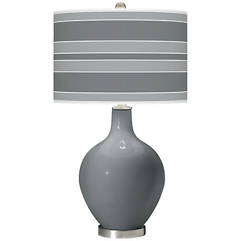 Software Bold Stripe Ovo Table Lamp