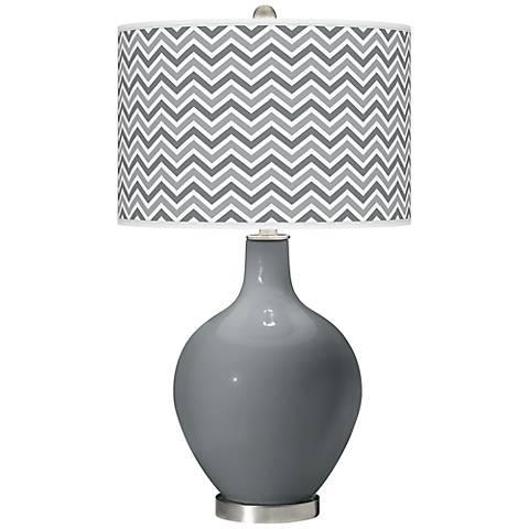 Software Narrow Zig Zag Ovo Table Lamp