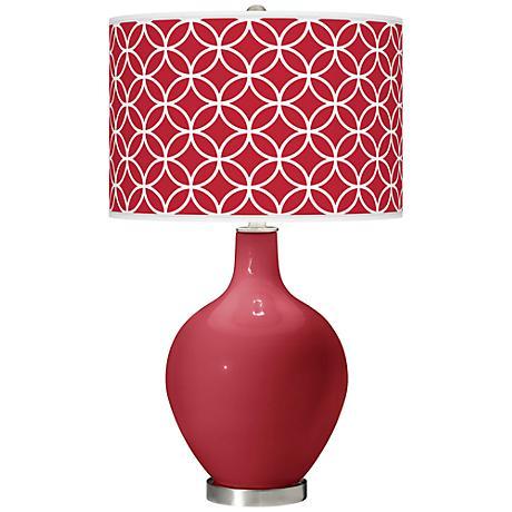 Samba Circle Rings Ovo Table Lamp