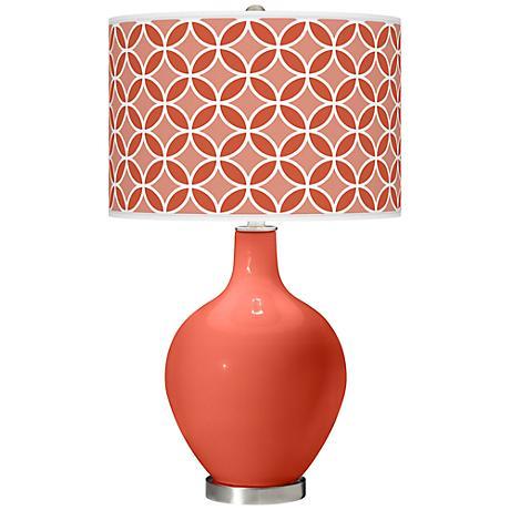 Koi Circle Rings Ovo Table Lamp