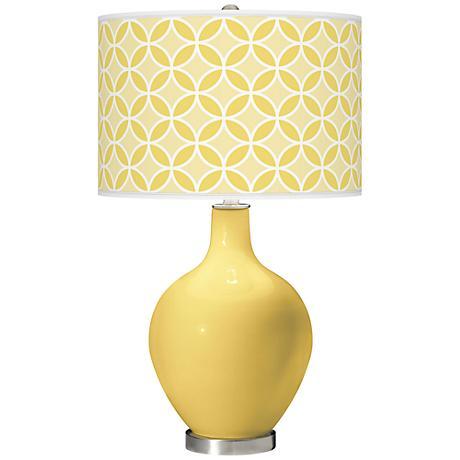 Daffodil Circle Rings Ovo Table Lamp