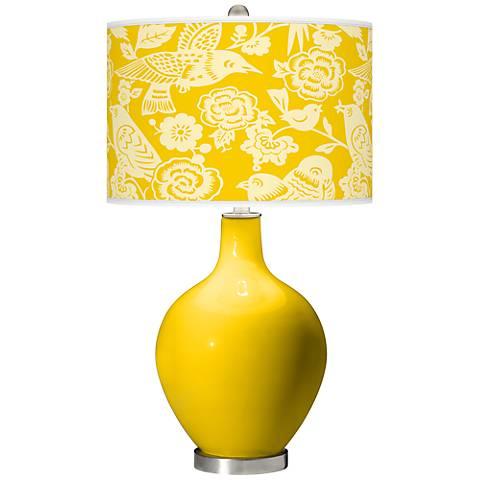 Citrus Aviary Ovo Table Lamp