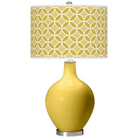 Nugget Circle Rings Ovo Table Lamp