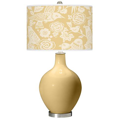 Humble Gold Aviary Ovo Table Lamp