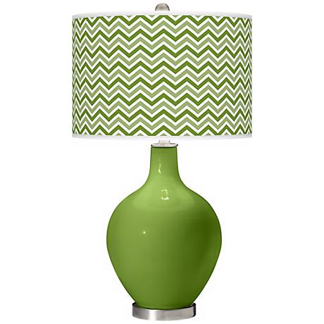Gecko Narrow Zig Zag Ovo Table Lamp