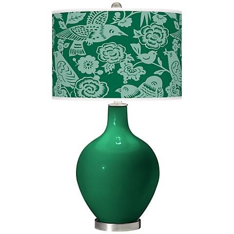 Greens Aviary Ovo Table Lamp