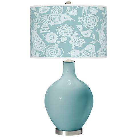 Raindrop Aviary Ovo Table Lamp