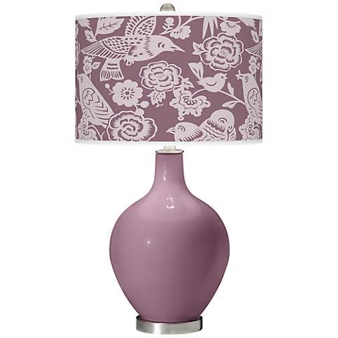 Plum Dandy Aviary Ovo Table Lamp