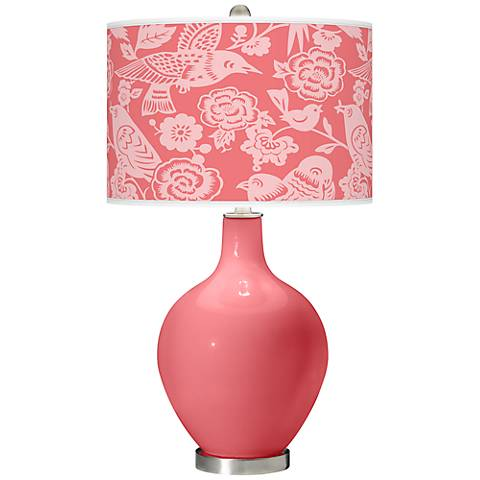 Rose Aviary Ovo Table Lamp