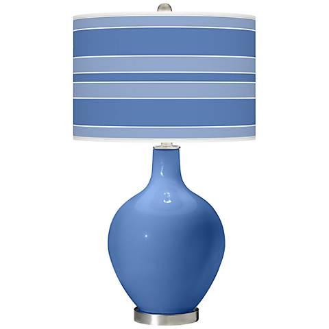 Dazzle Bold Stripe Ovo Table Lamp
