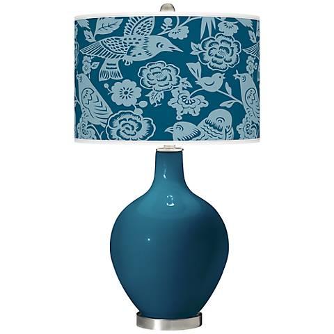Oceanside Aviary Ovo Table Lamp
