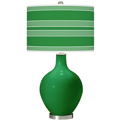 Envy Bold Stripe Ovo Table Lamp