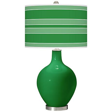 Envy Bold Stripe Ovo Table Lamp