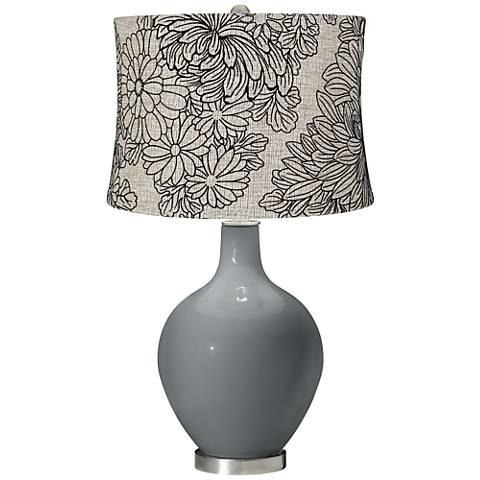 Software Velveteen Chrysanthemum Shade Ovo Table Lamp