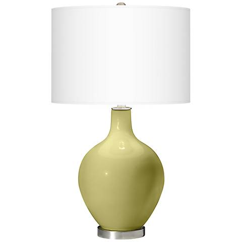 Linden Green Ovo Table Lamp