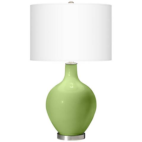 Lime Rickey Ovo Table Lamp