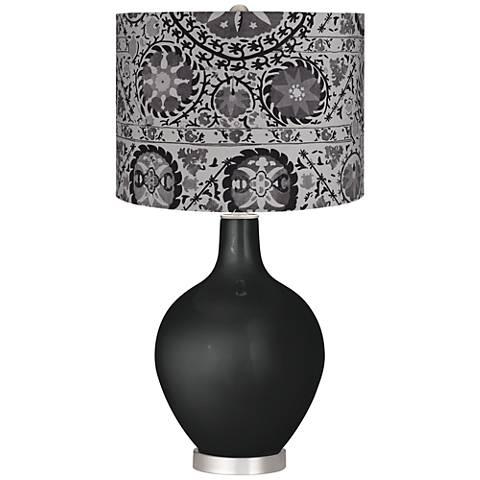 Gray Suzani Gray Suzani Ovo Table Lamp
