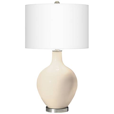 Steamed Milk Ovo Table Lamp