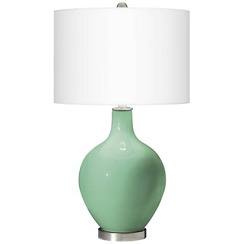 Hemlock Ovo Table Lamp by Color Plus