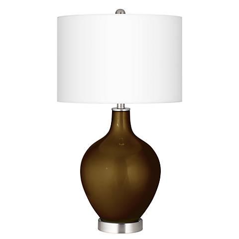Bronze Metallic Ovo Table Lamp