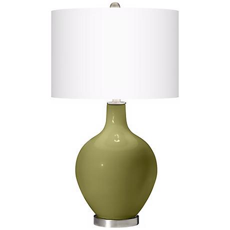 Rural Green Ovo Table Lamp