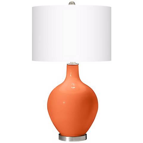 Nectarine Ovo Table Lamp