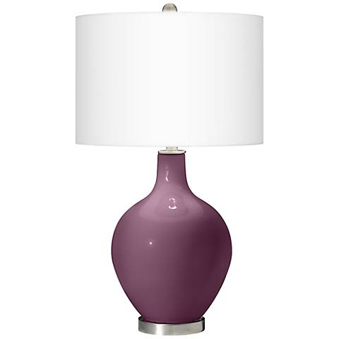 Grape Harvest Ovo Table Lamp