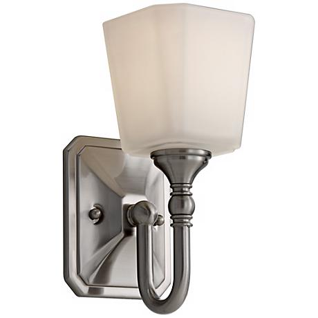 """Feiss Concord 10 1/4"""" High Steel Wall Sconce"""