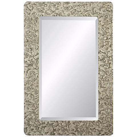 "Dijon Bentley 40"" High Rectangular Wall Mirror"