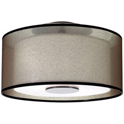 Saturnia 8 1 light mini pendant in bronze - Robert Abbey Saturnia 17 1 2 Quot Wide Bronze Ceiling Light