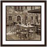 "Fine Dining I 20 1/2"" Square Framed Photo Wall Art"