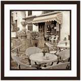 "Fine Dining II 20 1/2"" Square Framed Photo Wall Art"