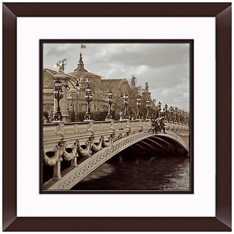 "Paris I 20 1/2"" Square Framed Photo Wall Art"