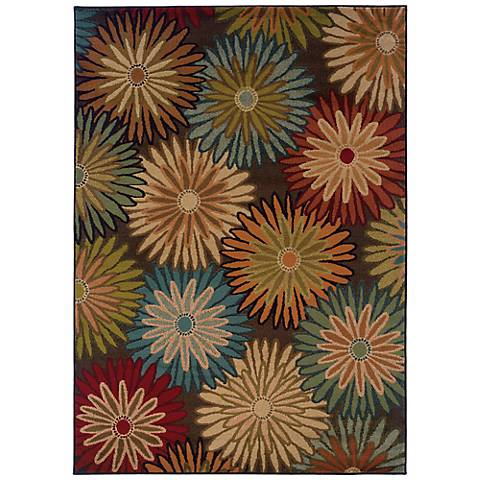 Oriental Weavers Emerson 2820A Floral Area Rug