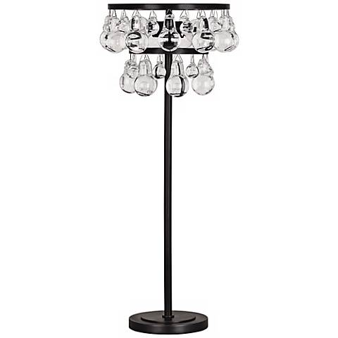 Robert Abbey Bling Bronze and Crystal Buffet Table Lamp